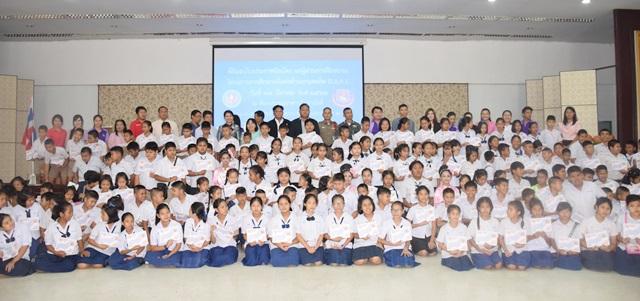 พิธีปิดโครงการการศึกษาเพื่อต่อต้านการใช้ยาเสพติดในเด็กนักเรียน ( D.A.R.E.ประเทศไทย )