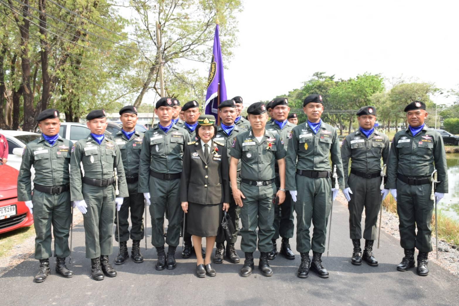 พิธีสวนสนามเชิดชูเกียรติวันทหารผ่านศึก